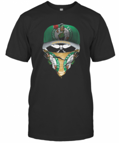 Skull Mask Boston Celtics Basketball T-Shirt Classic Men's T-shirt