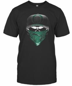 Skull Mask Oregon Ducks Football T-Shirt Classic Men's T-shirt