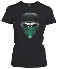 Skull Mask Oregon Ducks Football T-Shirt Classic Women's T-shirt