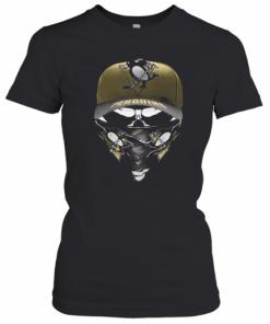 Skull Mask Pittsburgh Penguins Hockey Logo T-Shirt Classic Women's T-shirt