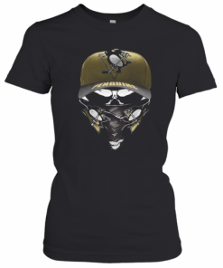 Skull Mask Pittsburgh Penguins Hockey T-Shirt Classic Women's T-shirt