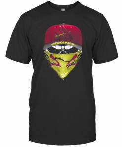 Skull Mask St. Louis Cardinals Baseball T-Shirt Classic Men's T-shirt