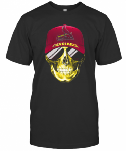 Skull Smile St. Louis Cardinals Baseball T-Shirt Classic Men's T-shirt