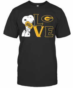 Snoopy Hug Heart Love Georgia State University T-Shirt Classic Men's T-shirt