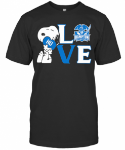 Snoopy Hug Heart Love Hampton Pirates T-Shirt Classic Men's T-shirt