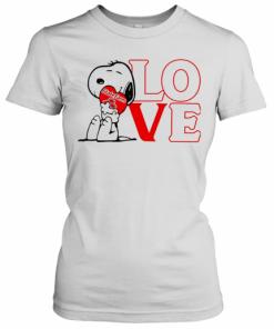 Snoopy Hug Heart Love State Farm T-Shirt Classic Women's T-shirt