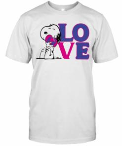 Snoopy Hug Heart Love Taco Bell T-Shirt Classic Men's T-shirt
