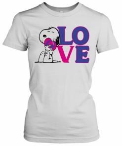 Snoopy Hug Heart Love Taco Bell T-Shirt Classic Women's T-shirt