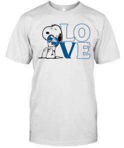 Snoopy Hug Heart Love United States Postal Service T-Shirt Classic Men's T-shirt