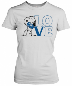 Snoopy Hug Heart Love United States Postal Service T-Shirt Classic Women's T-shirt