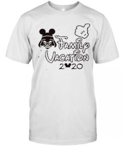 Star Wars Darth Vader Family Vacation 2020 Mickey Mouse T-Shirt Classic Men's T-shirt