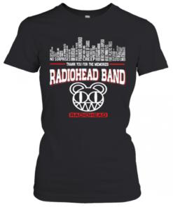 Thank You For The Memories Radiohead Band T-Shirt Classic Women's T-shirt
