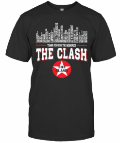 Thank You For The Memories The Clash T-Shirt Classic Men's T-shirt