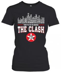 Thank You For The Memories The Clash T-Shirt Classic Women's T-shirt