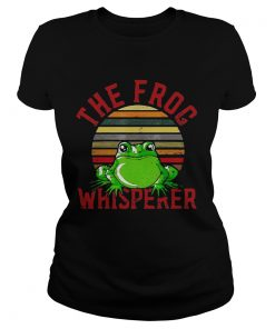 The Frog Whisperer  Classic Ladies