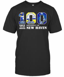 University Of New Haven 100 Year Of 1920 2020 T-Shirt Classic Men's T-shirt