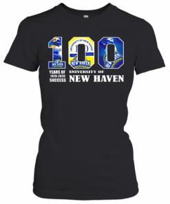 University Of New Haven 100 Year Of 1920 2020 T-Shirt Classic Women's T-shirt