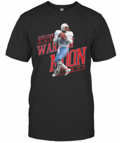 Warren No.1 Houston Football Moon T-Shirt Classic Men's T-shirt