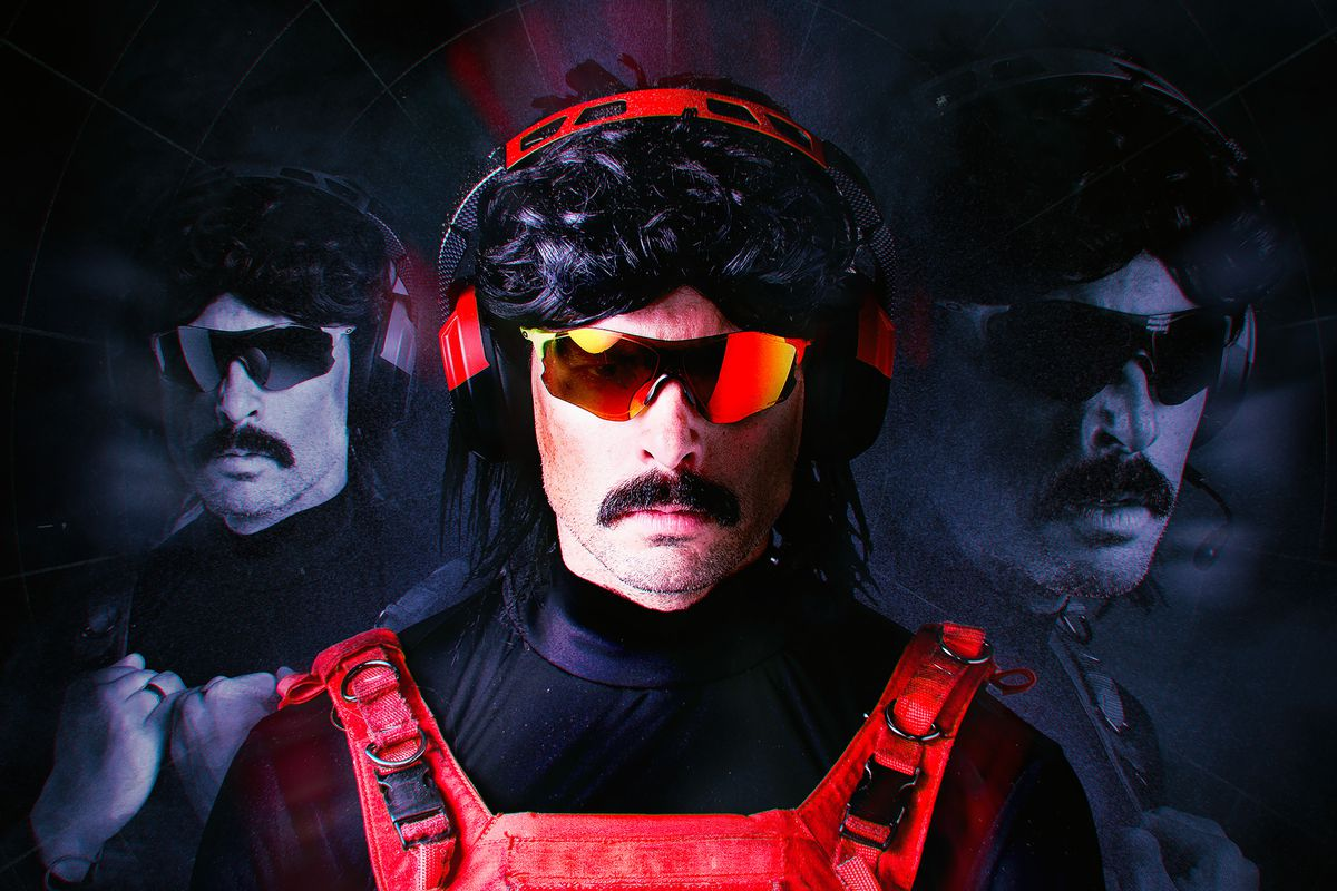 Dr Disrespect is gone and Twitch won't say why