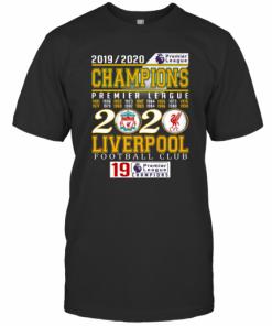 2019 2020 Champions Premier League 2020 Liverpool Football Club T-Shirt Classic Men's T-shirt