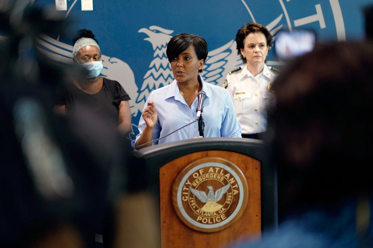 Keisha Lance Bottoms Atlanta Mayor and VP Contender Says She Has Tested Positive for COVID-19