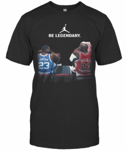 Be Legendary Michael Jordan 23 T-Shirt Classic Men's T-shirt