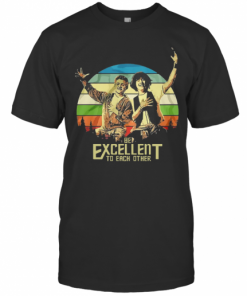 Bill And Ted's Be Excellent To Each Other T-Shirt Classic Men's T-shirt