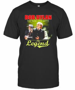 Bob Dylan The Man The Myth The Legend Signature T-Shirt Classic Men's T-shirt