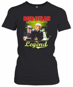 Bob Dylan The Man The Myth The Legend Signature T-Shirt Classic Women's T-shirt