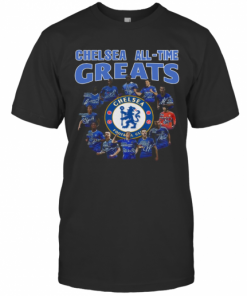 Chelsea All Time Greats Player Signature T-Shirt Classic Men's T-shirt