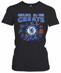 Chelsea All Time Greats Player Signature T-Shirt Classic Women's T-shirt