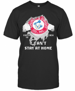 Churoa And Dwight Co.,INC I Can'T Stay At Home Covid 19 2020 Superman T-Shirt Classic Men's T-shirt