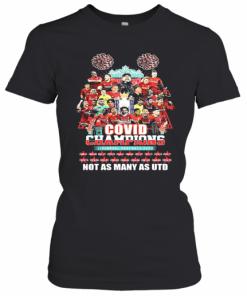 Covid 19 Champions Liverpool Football Club Not As Many As Utd T-Shirt Classic Women's T-shirt