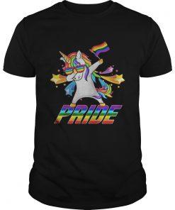 Dabbing Unicorn LGBT Gay Pride  Unisex