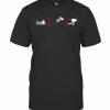 Disney Snoopy Activities Sports Heartbeat T-Shirt Classic Men's T-shirt