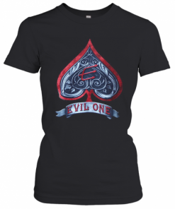 Engraved Spade Evil One T-Shirt Classic Women's T-shirt