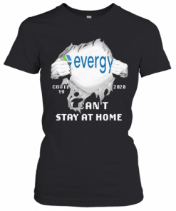 Evergy I Can'T Stay At Home Covid 19 2020 Superman T-Shirt Classic Women's T-shirt