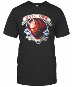 Evil Awaits Demon Men'S Biker T-Shirt Classic Men's T-shirt