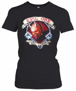 Evil Awaits Demon Men'S Biker T-Shirt Classic Women's T-shirt