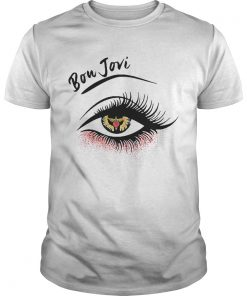 Eyes bon jovi band  Unisex