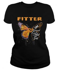 Fitter Butterfly She Believed She Could So She Did  Classic Ladies