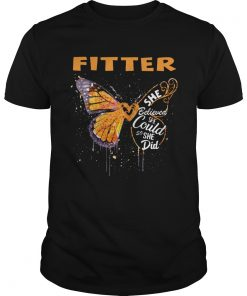 Fitter Butterfly She Believed She Could So She Did  Unisex
