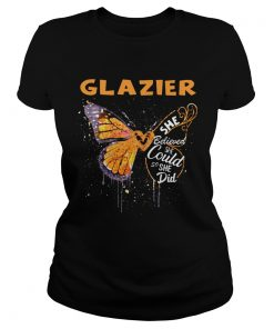 Glazier Butterfly She Believed She Could So She Did  Classic Ladies