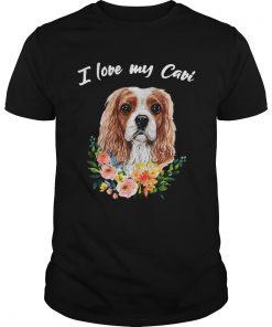 I Love My Cavi Cavalier King Charles Spaniel  Unisex