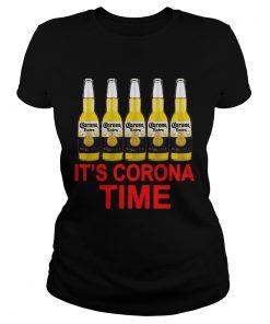 Its Corona Time Corona Extra  Classic Ladies