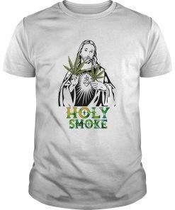 Jesus weed holy smoke  Unisex