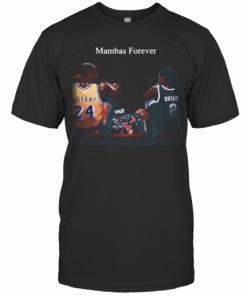 Kobe Bryant And Daughter Mambas Forever T-Shirt Classic Men's T-shirt
