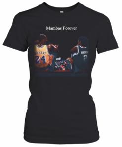 Kobe Bryant And Daughter Mambas Forever T-Shirt Classic Women's T-shirt