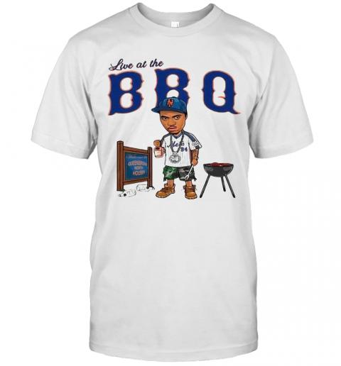 Live At The BBQ T-Shirt Classic Men's T-shirt