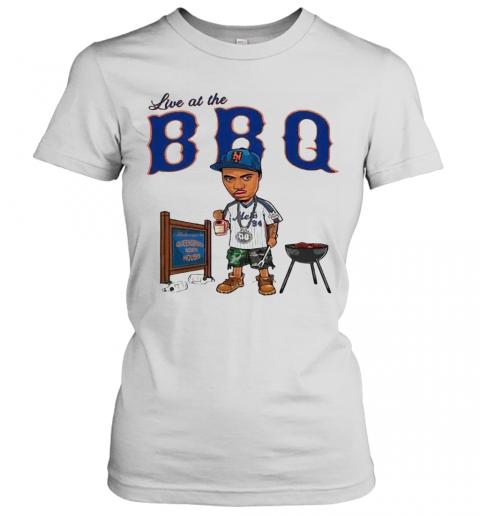 Live At The BBQ T-Shirt Classic Women's T-shirt